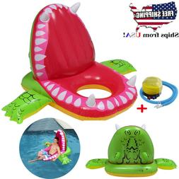 Inflatable Floating 63In Crocodile Row Mat Child&Adults Pool