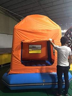Inflatable Floating Shoal Family Camping Water Raft Tent AS