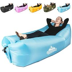 KyRush It Inflatable Lounger air couch chair sofa pouch | La