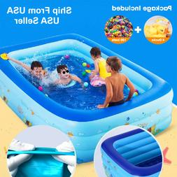 inflatable swimming pool multiple size adults kids