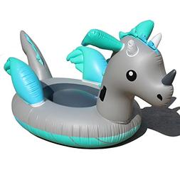 DMGF Inflatable Unicorn Pool Float Giant Swiming Partytoys S