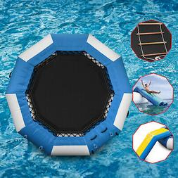 Inflatable Water Trampoline 10/13/17Ft Floating Island Lake