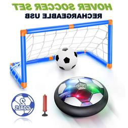kids toy led rechargeable hover soccer ball