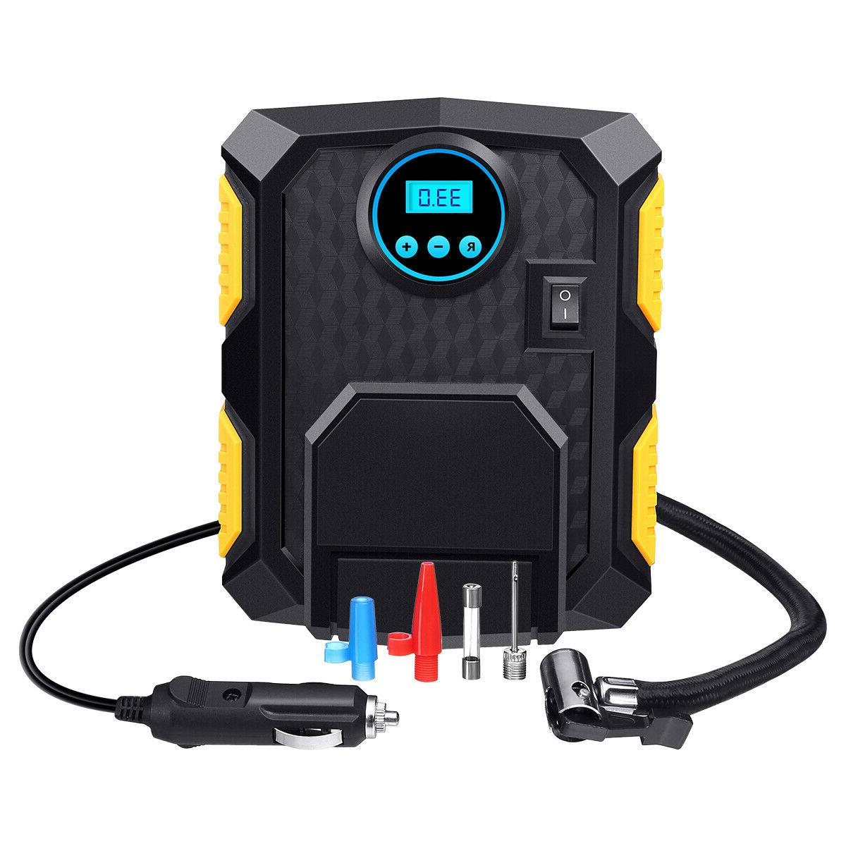 Tire Inflator Car Pump Auto 12V 150