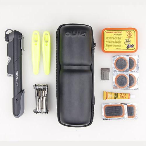 12 in 1 Multifunction Bike Bicycle Tyre Repair Tool Kits EVA