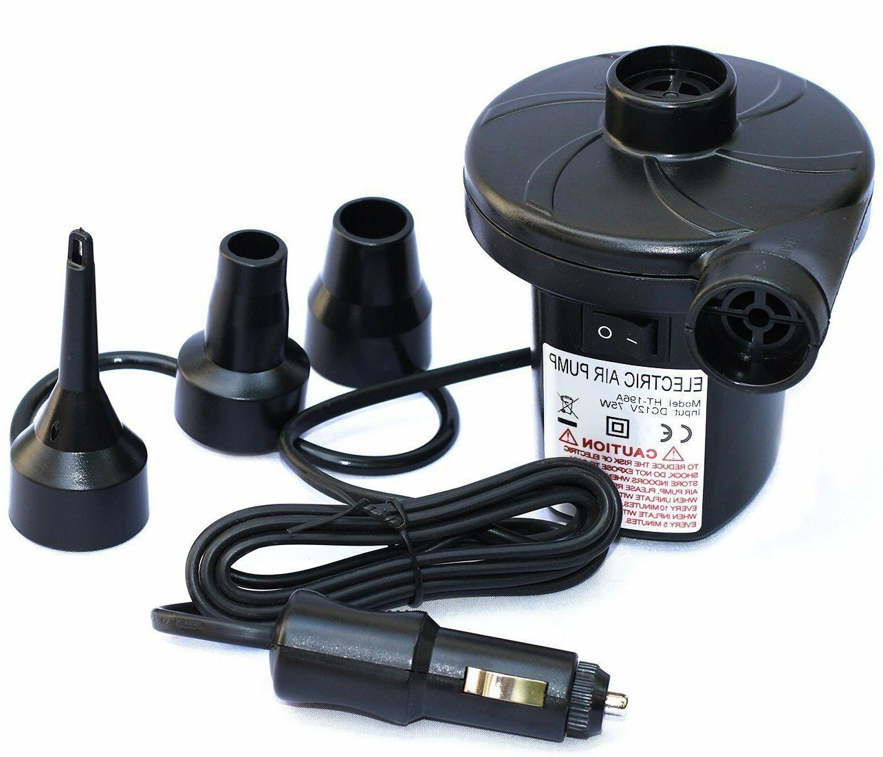 12v dc electric air pump for inflatables