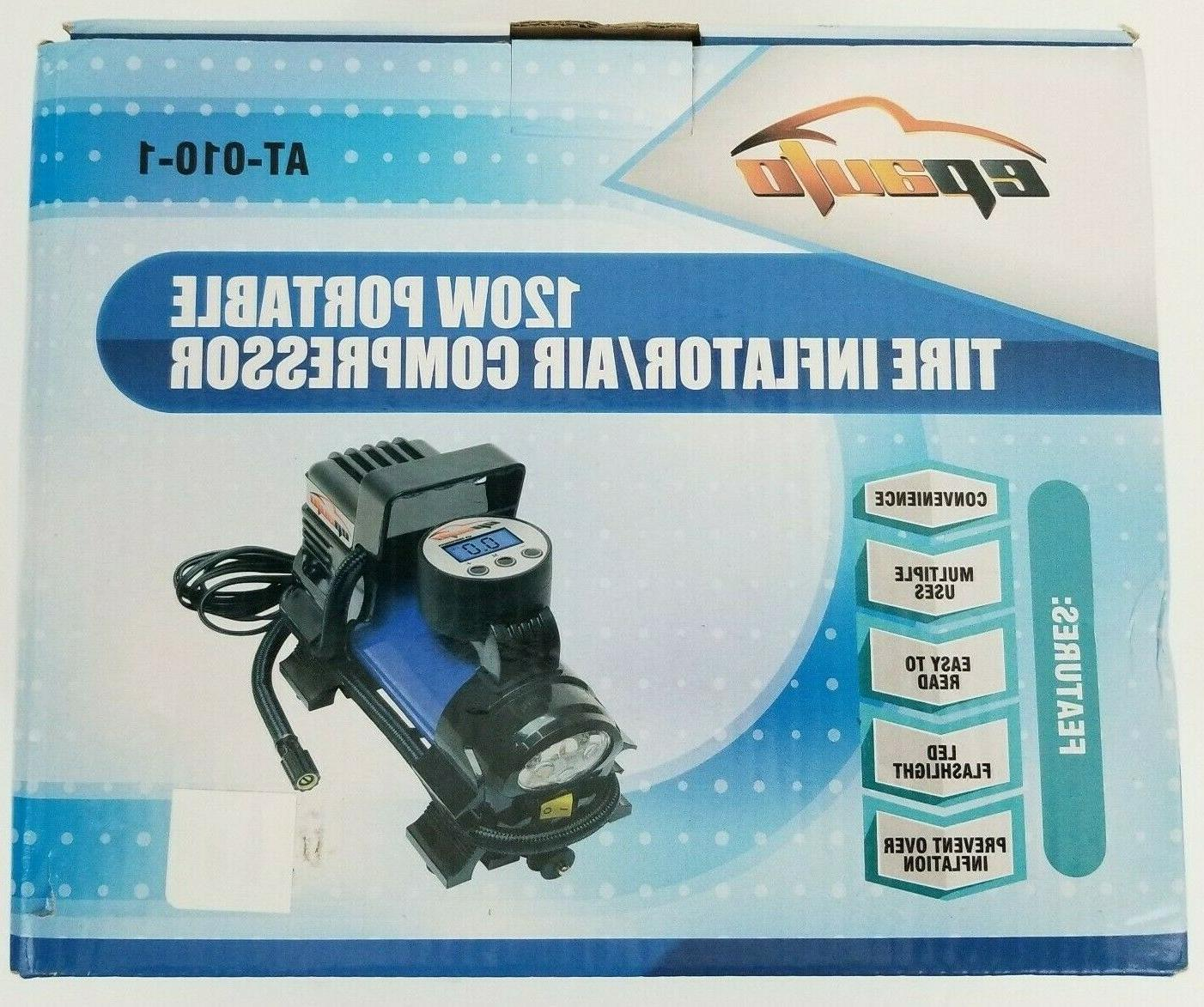 EPAuto Air Tire Inflator NEW