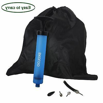 Skoloo 2 Portable Hand Air Pump with Needle
