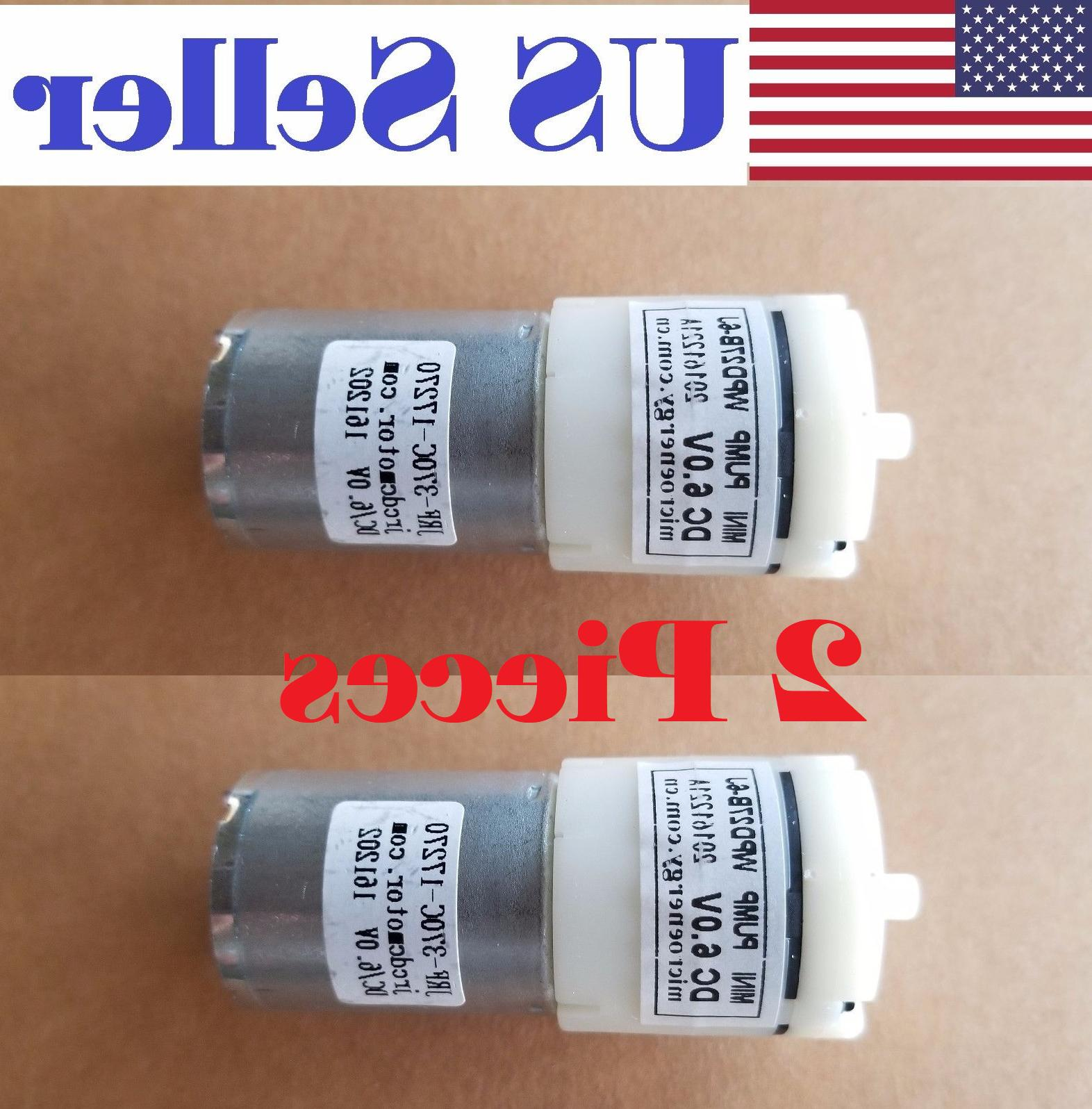 2pcs new 6v dc 370 high power