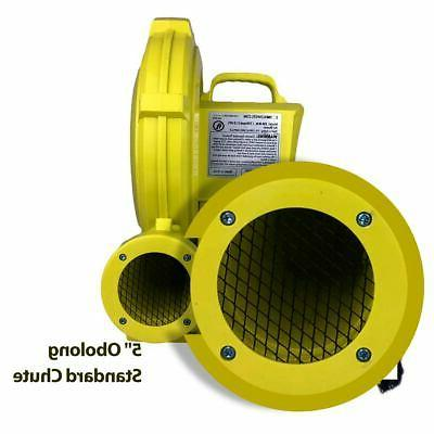 450 For Bounce House Open Box Zoom 1/2 HP Air Pump