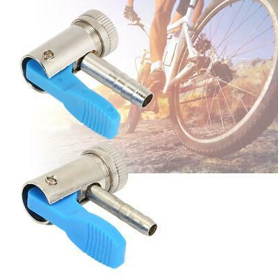 bicycle air pump head inflator connector valve