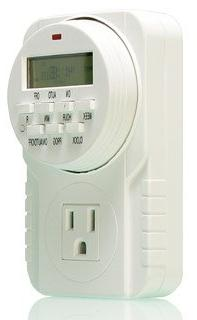 Hydrofarm 7-Day Grounded Digital Programmable Timer, 1725W,