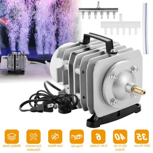 6 Outlets Tank Air Pump Small Aerator