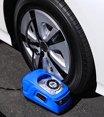 EPAuto AC DC Power Portable Air w/Digital Tire Inflator, for Lighter Socket