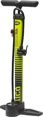 Bell Sports Air Attack 650 High-Volume Bicycle Floor Pump Wi