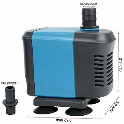 Aquaneat Air Pump 500GPH Submersible Hydroponic