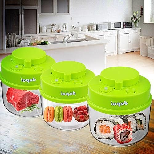 Dapai Food Storage Container Inner 0.75 BPA-Free Coffee, and