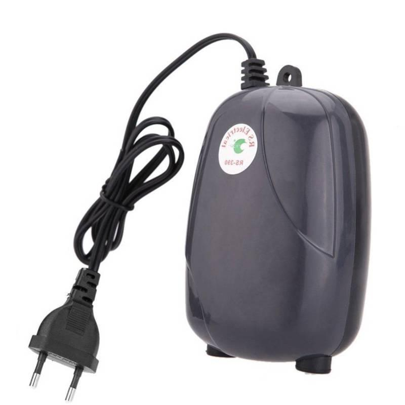 Aquarium Air Tank Mini Air Compressor Oxygen Pump Aquarium