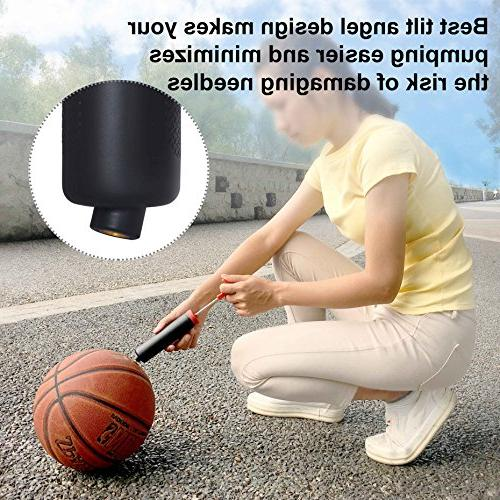 Skoloo Hand Air Kit for Soccer Basketball Volleyball Water Exercise Nozzle & Extension