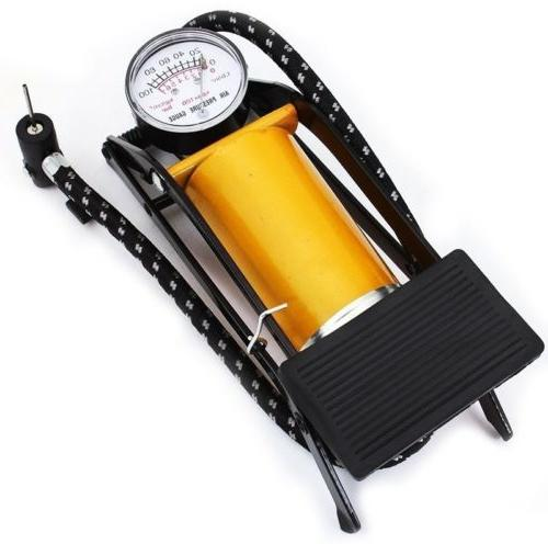 Bicycle Foot Operated Tire Inflator Air Mattress