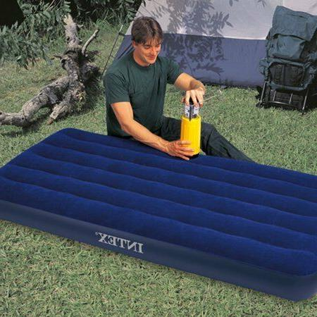 Camping Mattress Air Sleeping Inflatable Airbed Intex Twin Q