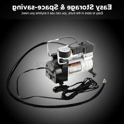 DC 12V Car Inflator Electric Compressor