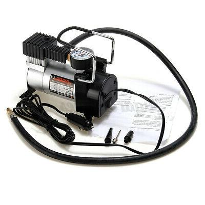 DC 12V Auto Car Tire Portable Electric Compressor