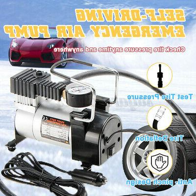 dc 12v 100psi auto car tire inflator