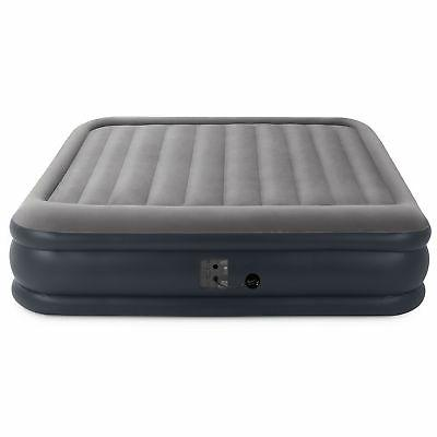 Intex Inflatable Air Mattress with Built In Pump, King