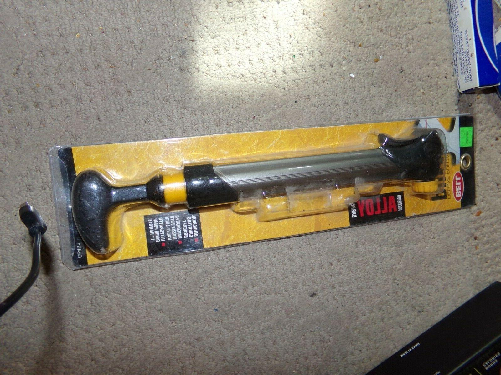 deluxe portable air pump hand operated new