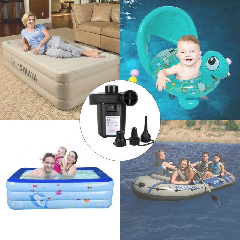 Electric Air for Inflatables Mattress Raft Pool