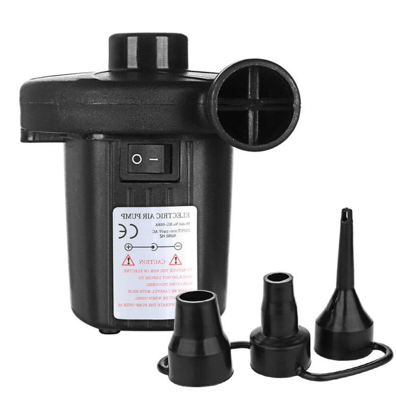 Electric Air Deflate 3 Nozzles for 110V
