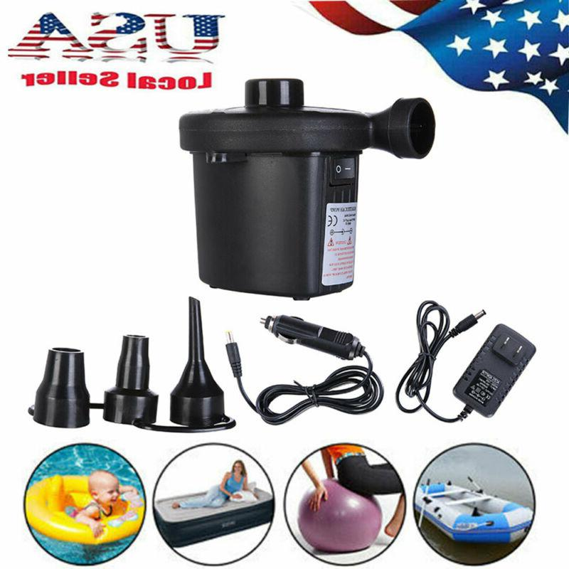 Electric Air Pump Inflator Deflate for Air Bed Mattress Boat