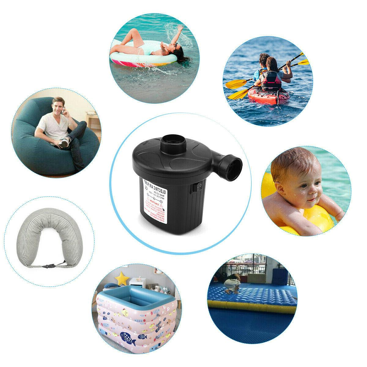 Electric Portable for Inflatables Mattress Raft Bed Boat Toy