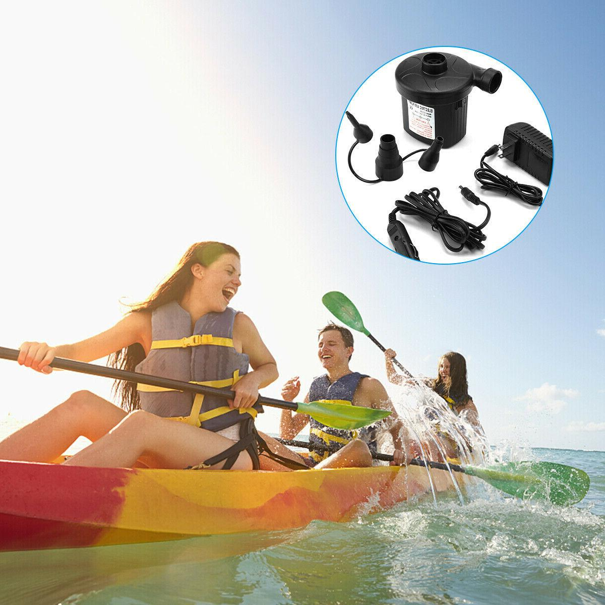 Electric for Air Mattress Raft Bed Boat Toy