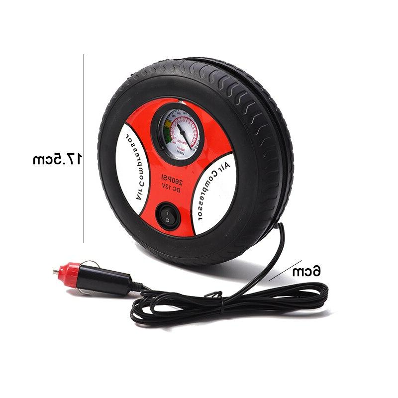Electric Inflator <font><b>DC</b></font> 12 <font><b>Air</b></font> Compressor PSI Car <font><b>Air</b></font> Compressor for Car Motorcycles Bicycles