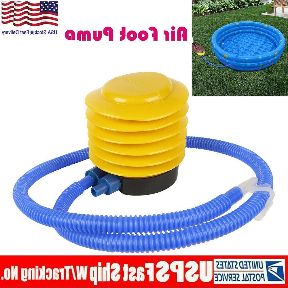 foot operated air pump toy balloon inflator