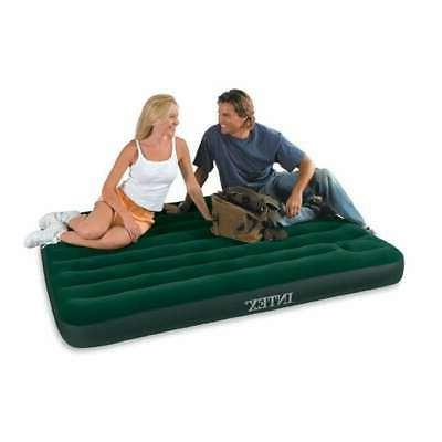 Guest Airbed Roll Up Air Mattress Folding Guest Bed W Air Pu