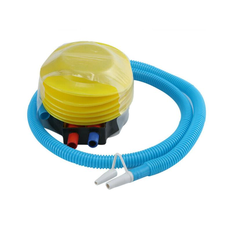 Plastic Bellows Foot Pump Sports Inflatable Deflatable Air P