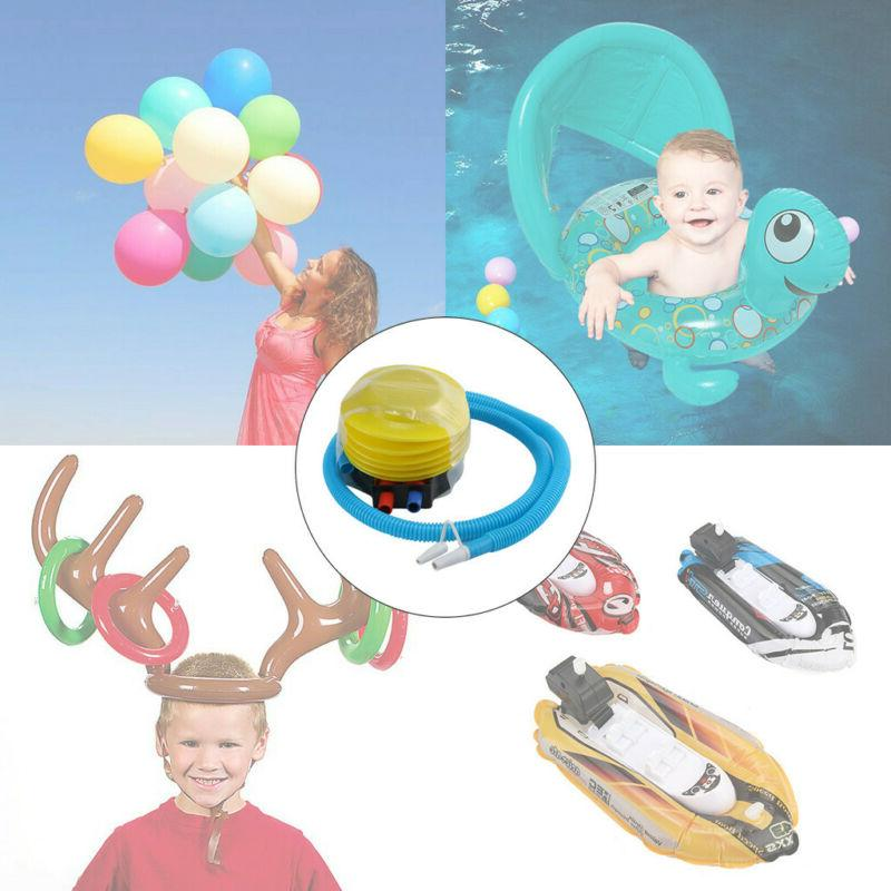 Plastic Bellows Foot Pump Sports Inflatable Pump for Balloon