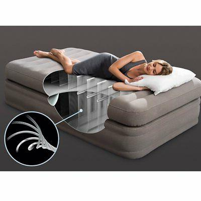 inflatable prime comfort elevated airbed