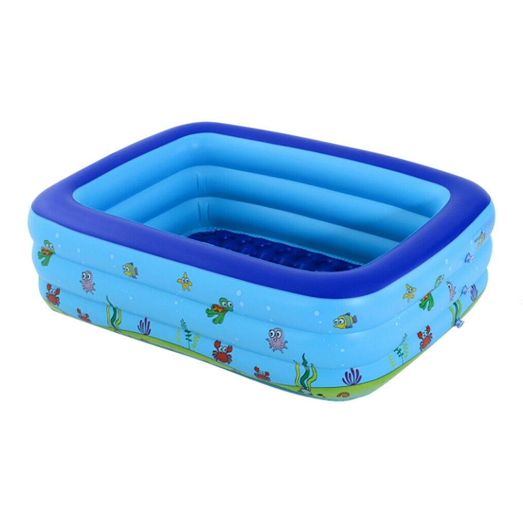 Inflatable Swimming Pool Size Kids Family Pool Large Bathing