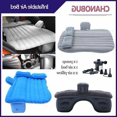 Inflatable Air Bed Sleep Rest Mat with Pillow/Pump