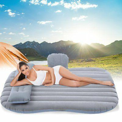 Inflatable Air Bed Seat Sleep Rest with Pillow/Pump