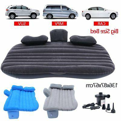 inflatable travel car mattress air bed back