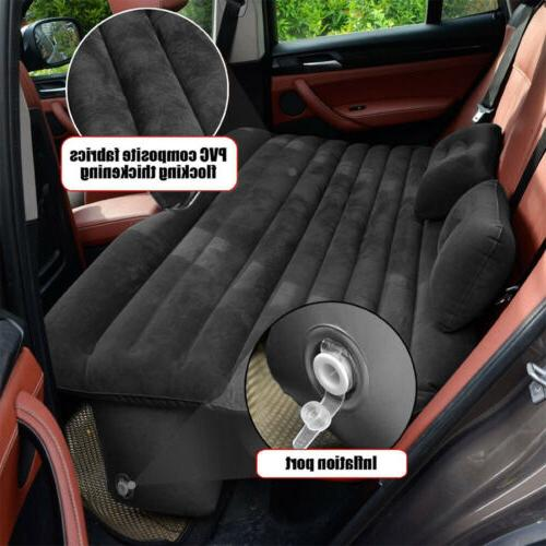 Car SUV Air Bed Sleep Travel Inflatable Mattress Seat Cushio