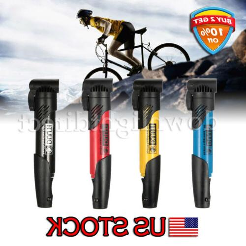 Mini Portable Plastic Air Pump Bike Tire Inflator MTB Road B