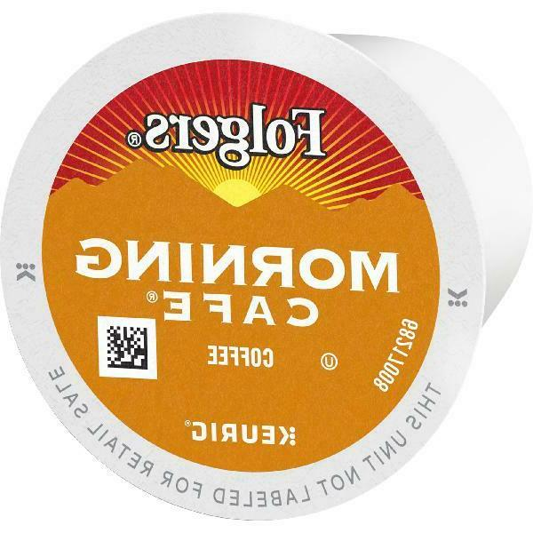 Folgers Morning Cafe Coffee 48 Count For Keurig and