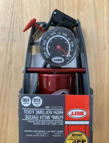 🔥NEW Bell Airstomper 500 High Volume Foot 100