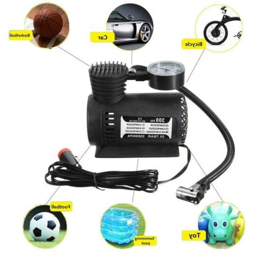 NEW Portable Air Compressor Tire Infaltor Pump